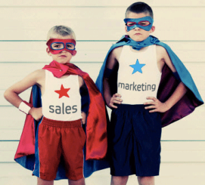 Sales and marketing war